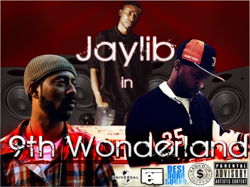 JAYLIB IN WONDERLAND COVER